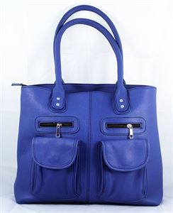 Picture of Leather Hand bag-LHB 118 Blue