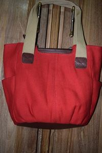 Picture of Leather Hand bag-LHB 103 Ash Red