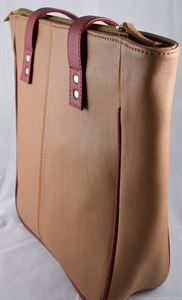 Picture of Leather Hand bag-LHB 119(BROWN)
