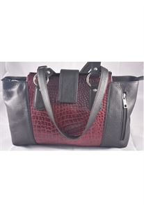 Picture of Leather Hand bag-LHB 303(BLACK)