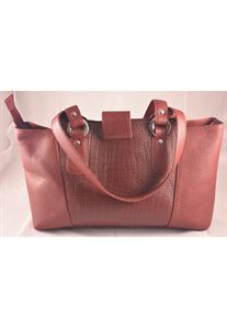 Picture of Leather Hand bag-LHB 303(MEROON)