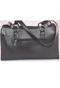 Picture of Leather Hand bag-LHB 301(BLACK)