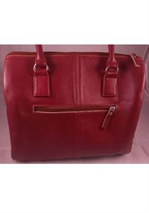 Picture of Leather Hand bag-LHB 101(RED)