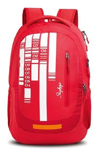 Picture of SKYBAGS Lazer 02 Laptop Backpack Red