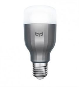 Picture of Yeelight LED smart bulb colored lights