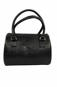 Picture of Women's Leather Handbag-LHB-101-Black