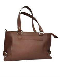 Picture of Women's Leather Handbag-LHB-302-Brown