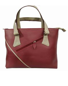 Picture of Women's Leather Handbag-LHB-122-Maroon