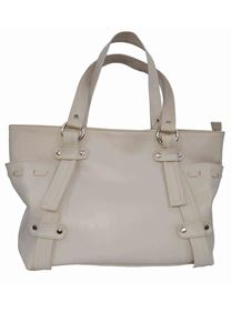 Picture of Women's Leather Handbag-LHB-113-Off White