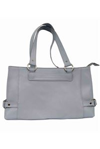 Picture of Women's Leather Handbag-LHB-302-Grey