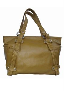 Picture of Women's Leather Handbag-LHB-113-Brown