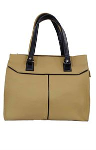 Picture of Women's Leather Handbag-LHB-150-Biscuit