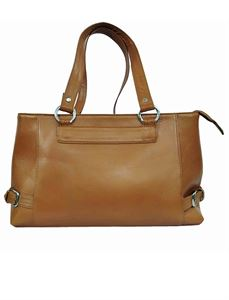 Picture of Women's Leather Handbag-LHB-302-Camel
