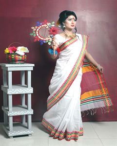 Picture of Half sillk saree - TSG-5221