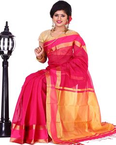 Picture of Half Silk Saree - TSG-7823
