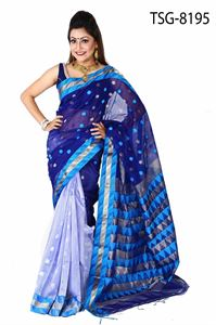 Picture of Gas Silk Saree - TSG-8195