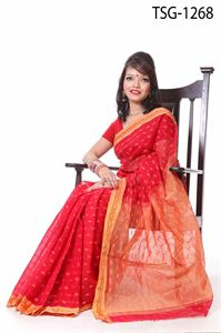 Picture of Half Silk Saree - TSG-1268