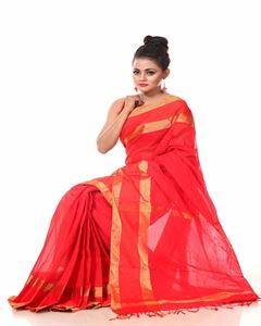 Picture of Pure Cotton Saree - TSG-1299