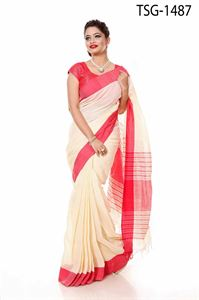 Picture of Pure Cotton Saree - TSG-1487