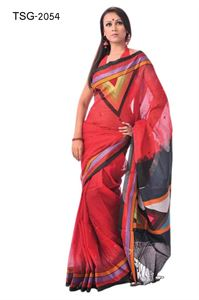 Picture of Masslice Cotton Saree - TSG-2054