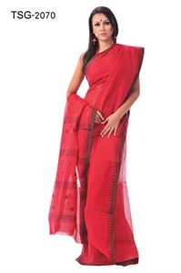 Picture of Pure Cotton Saree - TSG-2070
