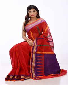 Picture of Half Silk Saree- TSG-2264