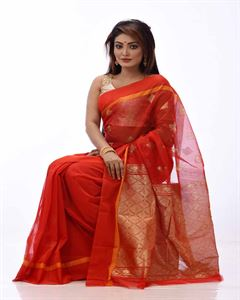 Picture of Half Silk Saree- TSG-2277