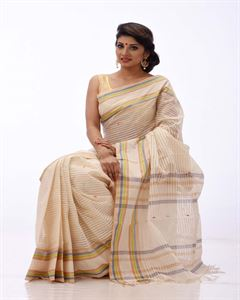 Picture of Pure cotton saree - TSG-2282