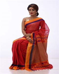 Picture of Pure cotton saree - TSG-2303