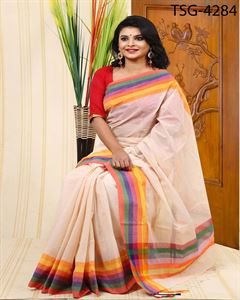 Picture of Pure Cotton Saree - TSG-4284