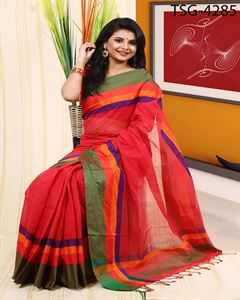 Picture of Pure Cotton Saree - TSG-4285