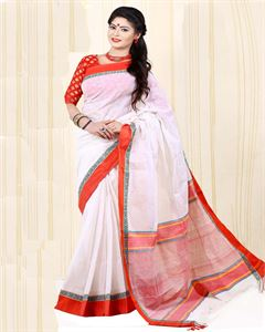 Picture of Pure Cotton Saree - TSG-5195