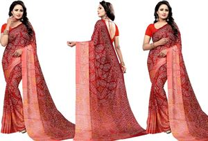 Picture of chundi silk saree n-031