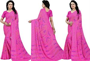 Picture of chundi silk saree n-042