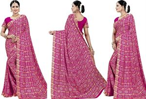 Picture of chundi silk saree n-083