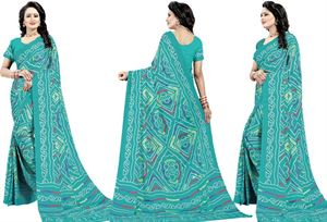 Picture of chundi silk saree n-084