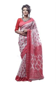 Picture of  Cotton Jamdani Saree - TSG-4365
