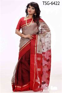 Picture of  Masslice Cotton Saree - TSG-6422