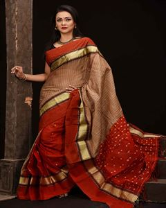 Picture of  Masslice Cotton Saree -TSG-6543