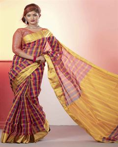 Picture of  Half Silk Saree -TSG-7011