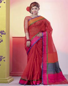 Picture of  Half Silk Saree -TSG-7018