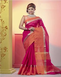 Picture of  Pure Cotton Saree -TSG-7980