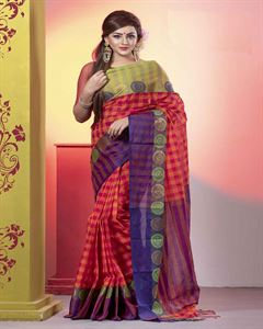 Picture of  Pure Cotton Saree -TSG-7981
