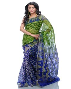 Picture of  Moslin Jamdani Saree -TSG-9204