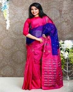 Picture of  Tosher silk saree -TSG-9287