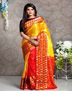 Picture of  Soft silk saree -TSG-9288