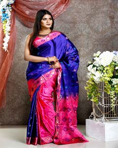Picture of  Soft silk saree -TSG-9294