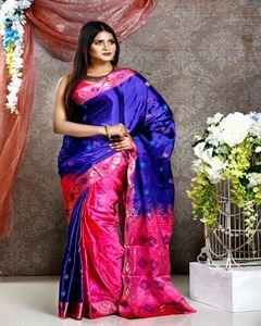 Picture of  Soft silk saree -TSG-9294