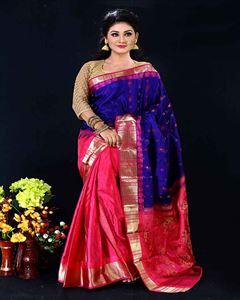Picture of  Soft silk saree -TSG-9306
