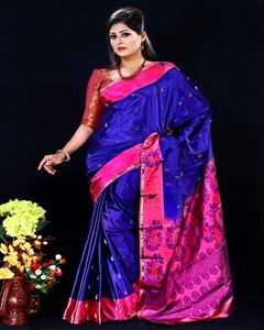 Picture of  Soft silk saree -TSG-9309